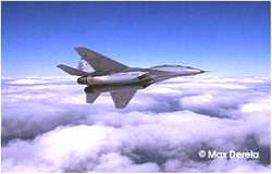 Fly the MiG-29 UB Fulcrum or MiG-31 Over Moscow