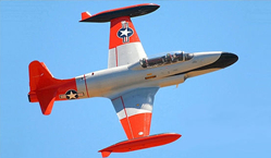 Fly the T-33 T-Bird Over California